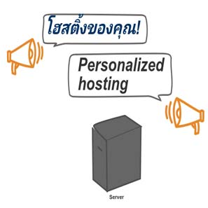 Personalized web hosting